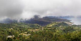 panorama- sikt Arkivbild
