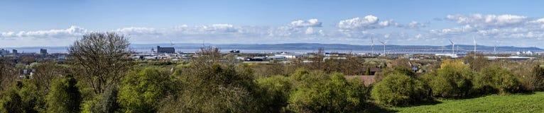 Panorama- sikt Royaltyfri Fotografi