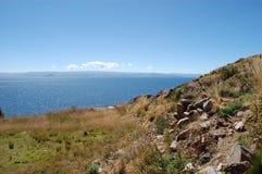 Panorama- sikt av Bolsena Royaltyfria Bilder
