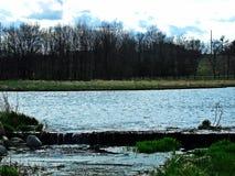 Panorama- sikt av Bolsena Arkivbild