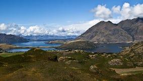 Panorama- sikt av Bolsena Royaltyfri Bild