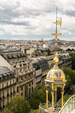 Panorama- sikt av Paris Royaltyfria Bilder