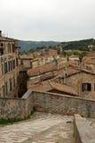 Panorama- sikt av staden av Perugia Royaltyfria Foton