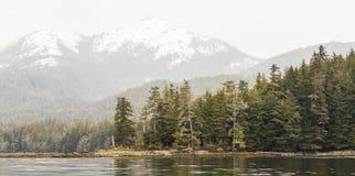panorama- sikt för alaskabo berg Royaltyfria Bilder