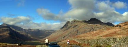 panorama- sikt för berg Royaltyfri Fotografi