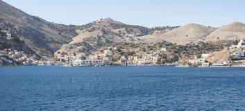 Panorama Simi Town Fotografia de Stock Royalty Free
