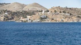 Panorama Simi Town Imagem de Stock