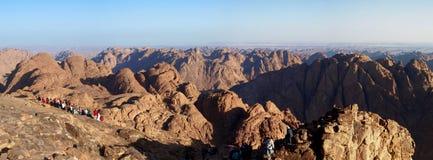 panorama Sinai de support photos stock