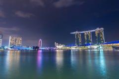 Panorama of Singapore Royalty Free Stock Photo