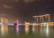 Panorama of Singapore Royalty Free Stock Photo