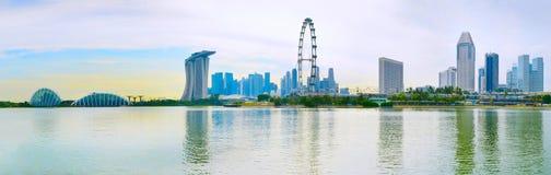 Panorama of Singapore Stock Image