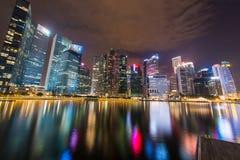 Panorama Singapur Zdjęcia Stock