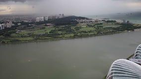 Panorama Singapur zdjęcie wideo