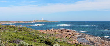 Panorama of Skippy Rock Coast Augusta West Aust. Stock Photos