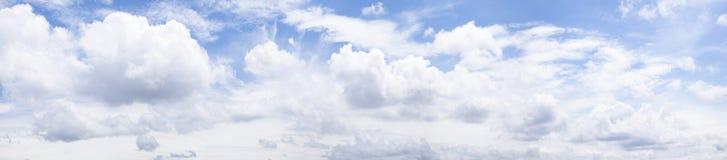 Panorama skly e nuvem Imagem de Stock Royalty Free