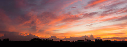Panorama sky Royalty Free Stock Photos