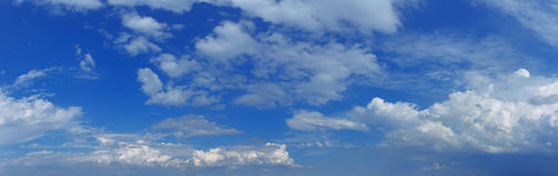 Panorama sky Stock Photos