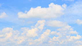 Panorama sky and cloud. Royalty Free Stock Photos