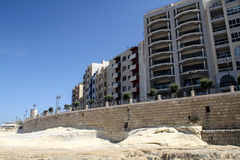 Panorama of Sliema, Malta Royalty Free Stock Photos