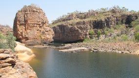 Panorama - smith rock, Nitmiluk National Park, Northern Territory, Australia Royalty Free Stock Photos