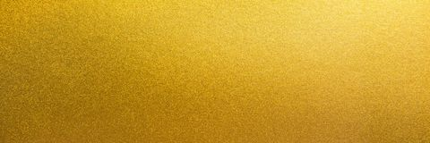 Free Panorama Smooth Shiny Gold Texture Background. Panoramic Gold Texture Surface Stock Photos - 149412703