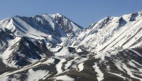 Panorama sobre a serra Nevada Imagem de Stock