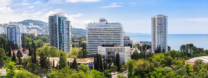 Panorama of Sochi Royalty Free Stock Images