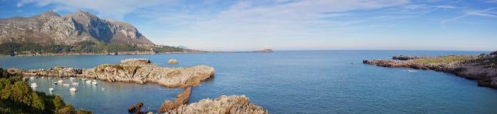 Panorama Sonabia Islares Royalty Free Stock Photo