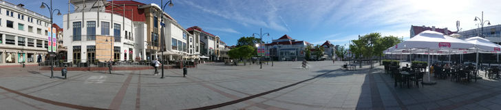 Panorama Sopot. Royalty Free Stock Photography