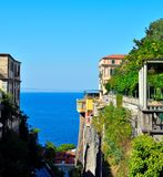 Sorrento napoli Italy. Panorama of Sorrento napoli Italy royalty free stock images