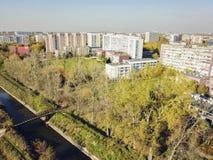 Panorama of Sosnowiec. Sosnowiec, Silesia, Poland royalty free stock images