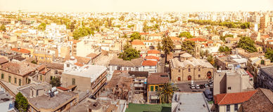 Panorama of south of Nicosia. Cyprus Royalty Free Stock Photos