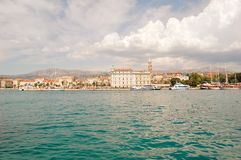 Panorama of Split stock image