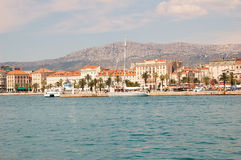 Panorama of Split Stock Photo