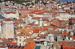 Panorama of Split Royalty Free Stock Images