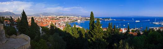 Panorama of Split, Croatia Stock Photos