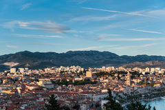 Panorama of Split, Croatia Stock Photo