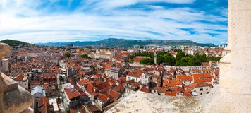 Panorama of Split, Croatia Royalty Free Stock Photos