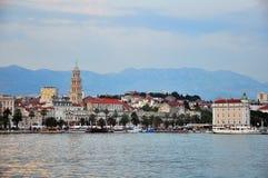 Panorama of Split Royalty Free Stock Photo