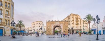 Panorama of the square Royalty Free Stock Images