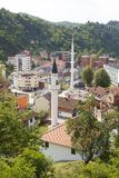 Panorama of Srebrenica, Bosnia and Herzegovina Stock Photos