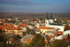 Panorama of Sremski Karlovci Royalty Free Stock Photos