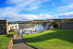Panorama of St Andrews, Fife, Scotland Royalty Free Stock Image
