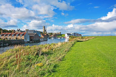 Panorama of St Andrews, Fife, Scotland Stock Images