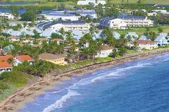 Panorama of St Kitts, Caribbean Stock Photo