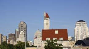 Panorama of St. Louis royalty free stock photos