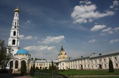 Panorama of St. Nicholas Ugreshsky monastery. Russia Royalty Free Stock Photography
