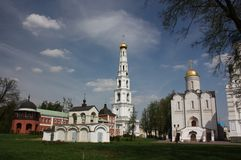 Panorama of St. Nicholas Ugreshsky monastery. Stock Image