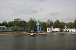 Panorama of St. Nicholas Ugreshsky monastery. Royalty Free Stock Photos