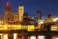 Panorama of St. Paul stock photography